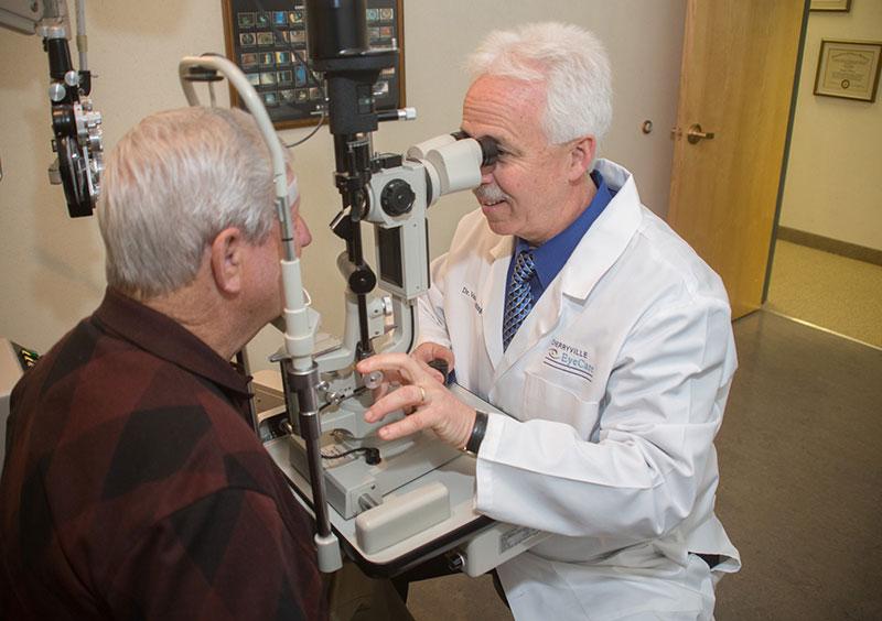 comprehensive eye exam cherryville nc