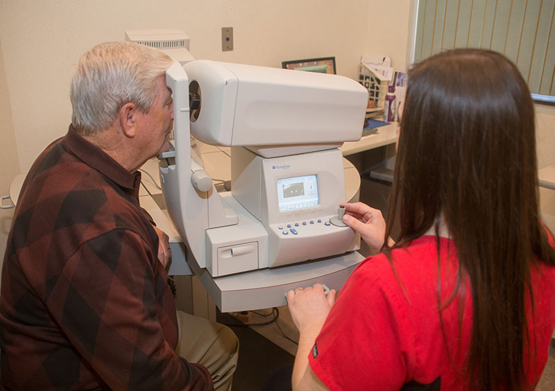 special eye testing cherryville nc